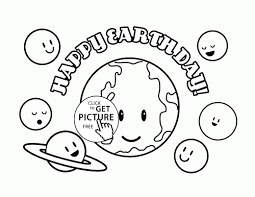 coloring pages 4u earth day coloring pages printable cute planets happy earth day coloring page for kids