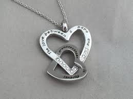 and granddaughter necklace the between a papa and granddaughter is forever necklace