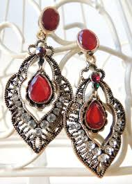 hanging earrings vintage antique hanging earrings modli