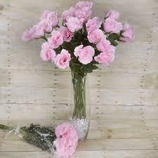 silk wedding bouquets 12 dozens 144 single stem roses wholesale silk wedding