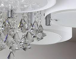 ladario da soggiorno ladario da soffitto con 5 punti luce circolari elegante