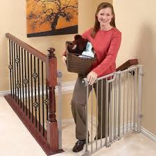 Baby Gate For Stairs With Banister And Wall Evenflo Safety Lock Baby Gate 29
