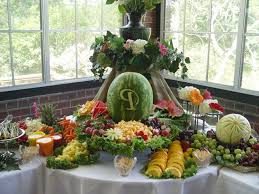 fruit table display ideas fruit table decorations for weddings best of best 25 fruit display