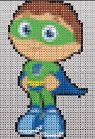 Halloween Perler Bead Templates by Super Why Animated Characters Perler Pinterest Perler Beads