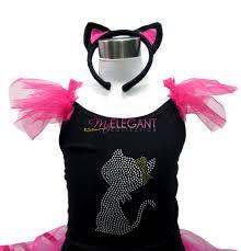 kitty cat girls costume ballet leotard headband my elegant