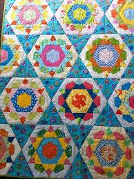 390 best quilt hexagon images on pinterest hexagon quilting
