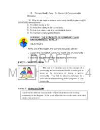 k to 12 grade 9 learner u0027s material in health