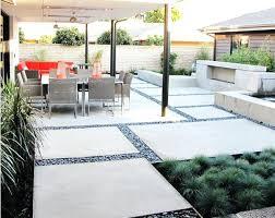 Patio Designs With Concrete Pavers Adorable Concrete Paving Slabs Designs Ideas And Concrete Patio