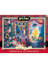 harry potter christmas at hogwarts puzzle 500 pc