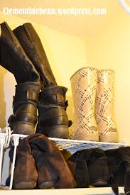 boot storage make the most of closet space clementine bean