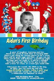 dr seuss birthday invitations dr seuss blue birthday invitation dr seuss 1st birthday