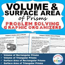 volume u0026 surface area of prisms this resource includes 10 real