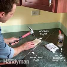 How To Install A Kitchen Countertop by Install A Laminate Kitchen Countertop Family Handyman