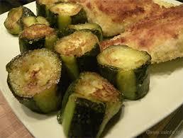 cuisiner des courgettes light bûches de courgettes poêlées recette light les légumes cuisinés