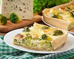 cuisiner le brocolis frais recette quiche au brocoli et fromage frais facile rapide