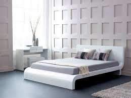bed back wall design white bedroom furniture the special simple amaza design