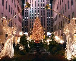 central park christmas tree christmas lights decoration