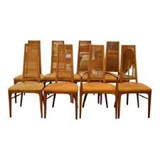 vintage u0026 used burnt orange dining chairs chairish