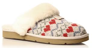 ugg cozy knit slippers sale lyst ugg cozy knit slippers in gray save 43