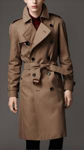 burberry london men s heritage double breasted raglan trench coat