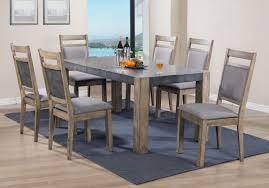 roundhill furniture costabella 7 piece dining set wayfair