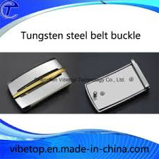 belt buckle allergy china business style tungsten steel anti allergy metal belt buckle