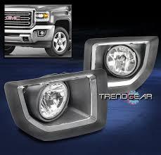 2015 gmc sierra fog lights 2015 2016 gmc sierra 2500 hd pickup bumper driving fog light chrome