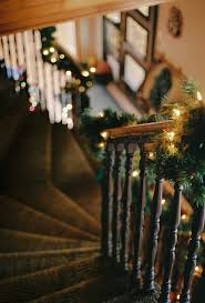 Christmas Lights For Stair Banisters If Stairs Could Speak Oh The Stories These Would Tell Holidays