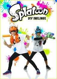 Game Boy Halloween Costume Diy Splatoon Inklings Costumes Nintendo Games Costumes