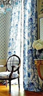 White Curtains With Blue Trim White Curtains With Blue Pattern Blue And White Curtains Curtains