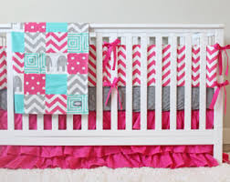 ocean baby crib bedding coral mint gray baby bedding