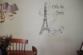 amazon com wall decor vinyl decal sticker cafe de paris eiffel amazon com wall decor vinyl decal sticker cafe de paris eiffel tower tz710 home kitchen