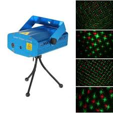 mini r g laser light lighting projector portable dj disco stage