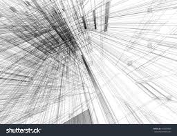 thesis abstract abstract art movement artists render building wireframe interior