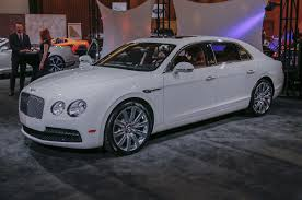 white bentley back motor city exotics the gallery at the 2015 detroit auto show