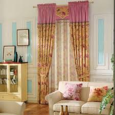 classic rustic curtains floral print room darkening