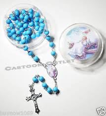 baptism rosary 12 pc baptism rosary rosaries gifts blue bautizo rosario recuerdos