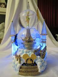 light up snow globe walt disney world crystal castle light up double snowglobe with