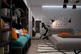 Funky Rooms That Creative Teens Would Love - Funky bedroom designs