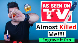 engrave it almost lost my finger engrave it pro as seen on tv