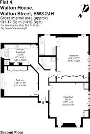 Walton House Floor Plan 2 Bedroom Flat To Rent In Walton House Walton Street
