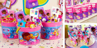 where to buy goodie bags doc mcstuffins party favors bracelets favor bags stationery