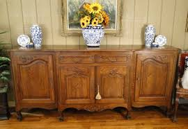 antique french country oak buffet sideboard french and english