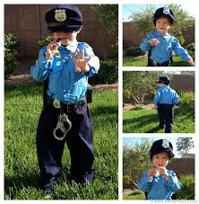 Cute Boy Halloween Costumes Police Officer Costume Chasing Fireflies Future Child Halloween