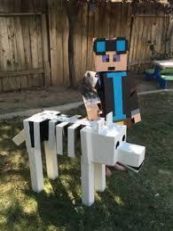 Minecraft Herobrine Halloween Costume Tutorial Create Minecraft Enderman Costume