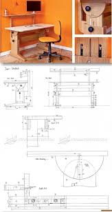 Diy Computer Desk Plans by Best 10 Desk Plans Ideas On Pinterest Woodworking Desk Plans