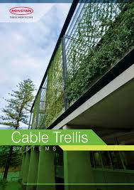 technical specifications metal trellises cables and rods