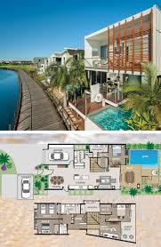 749 best house plans images on pinterest architecture floor this terrace styled floor plan smartly maximises this narrow block