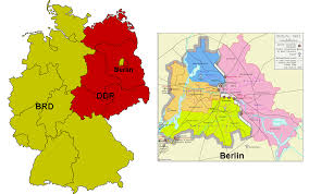 Cold War Germany Map by Berlin And The Cold War English 5
