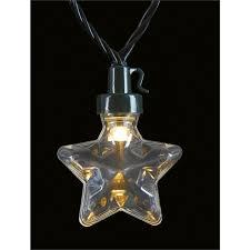 80 warm white star reel led christmas lights at homebase co uk